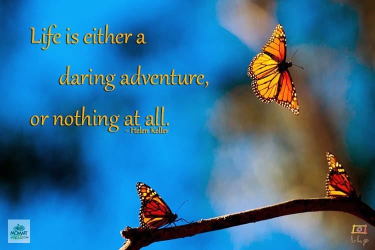Inspirational Nature Quote - Helen Keller