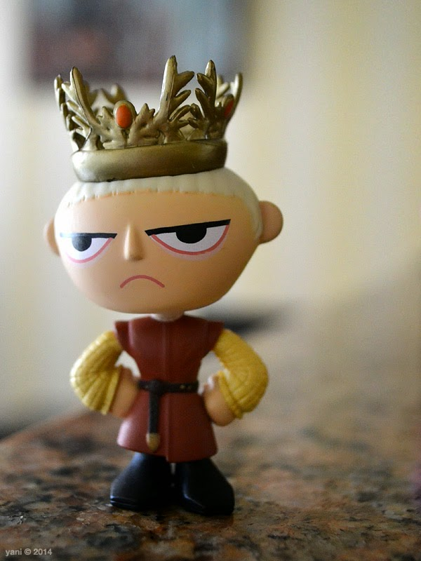 grumpy joffrey is clearly unimpressed
