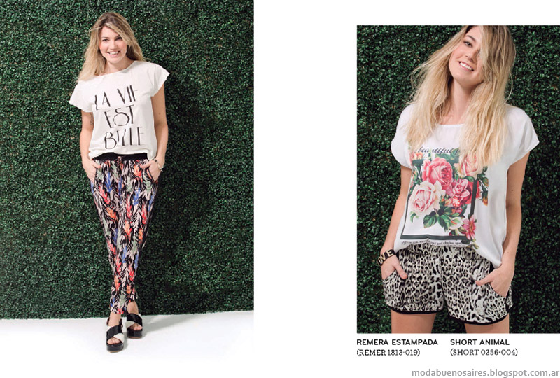 Remeras Ver moda verano 2015.
