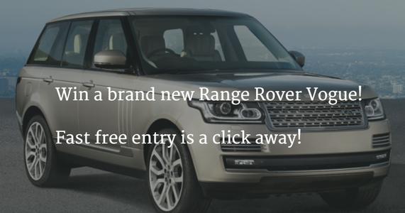 landrover defender win a brand new range rover. Black Bedroom Furniture Sets. Home Design Ideas