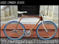 Углеродно-деревянный велосипед объединил ручное ремесло, дизайн и современные технологии