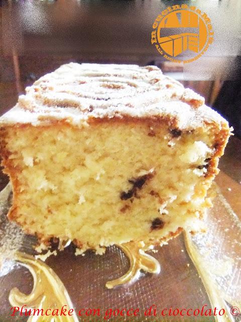 plumcake velocissimo con gocce di cioccolato