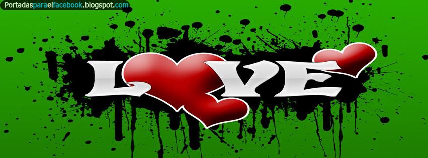 Portadas de corazones para facebook - Portadas para facebook