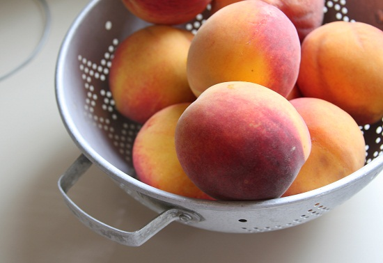 Consider the peach