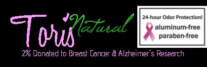 Tori's Natural Deodorant Logo