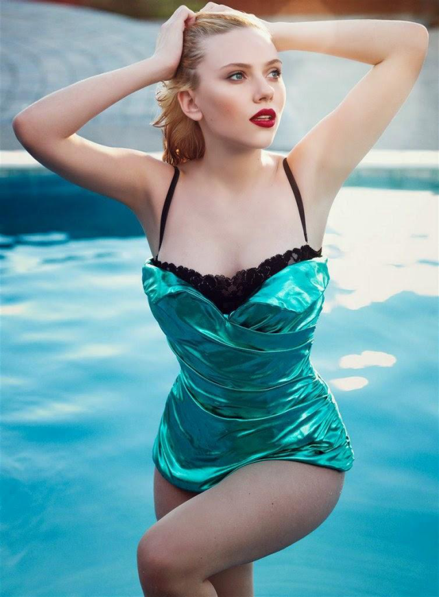 Scarlett Johansson en California Style Magazine