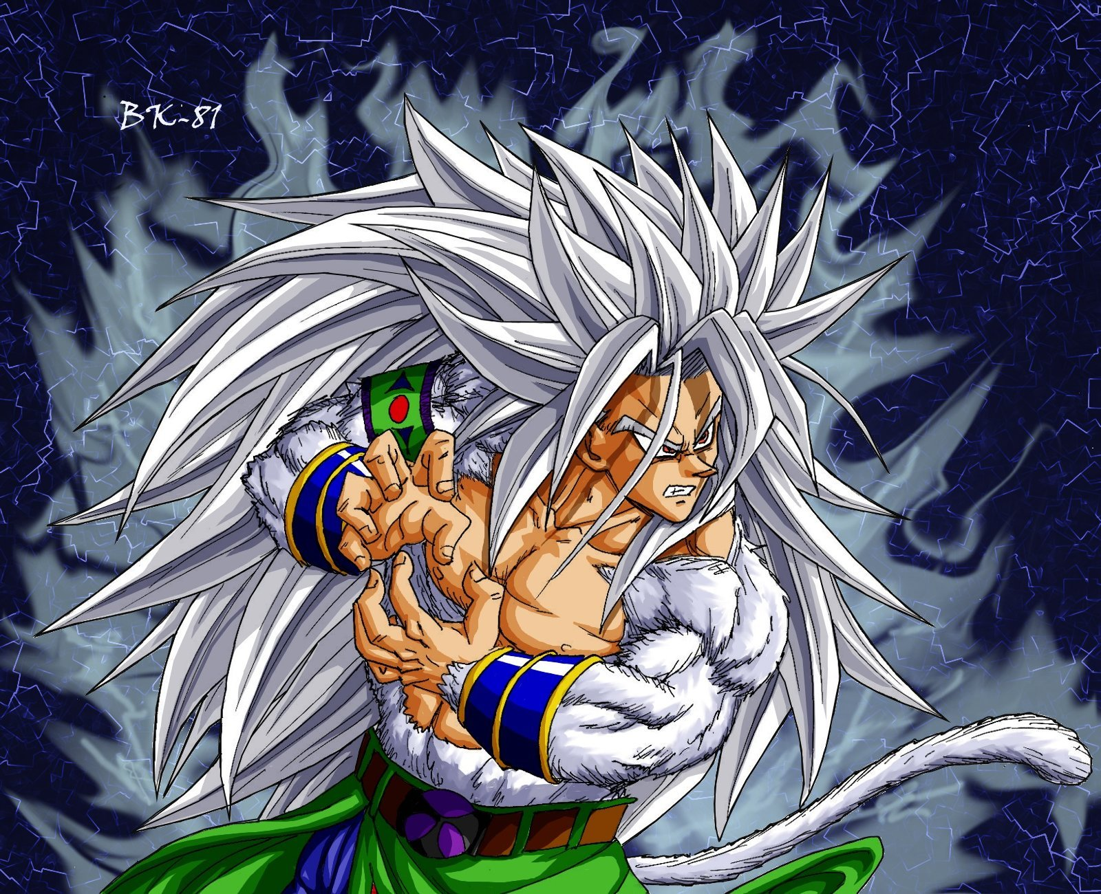Goku saiyan 5 dragonball af background and wallpapers - Goku 5 super saiyan ...