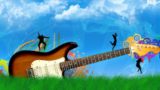 Wallpaper Guitar No1