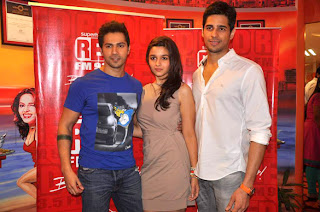 'Student Of The Year' Star cast visits Red FM 93.5 & Radio Mirchi 98.3 FM