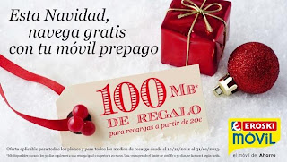 100MB gratis Eroski Móvil