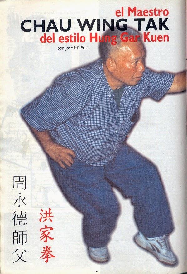 Hung gar kung fu en murcia articulos en revistas sobre for El tenedor andorra