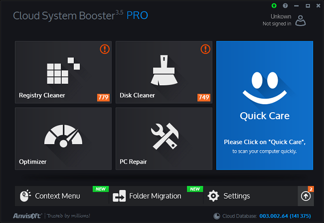 Anvisoft Cloud System Booster Pro