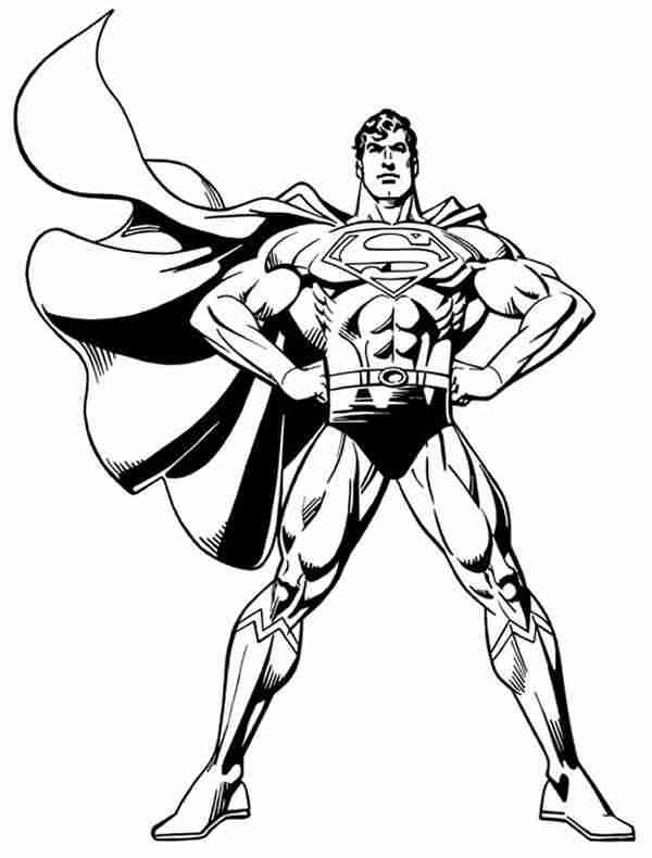 superman coloring pages - Superman Pictures To Colour