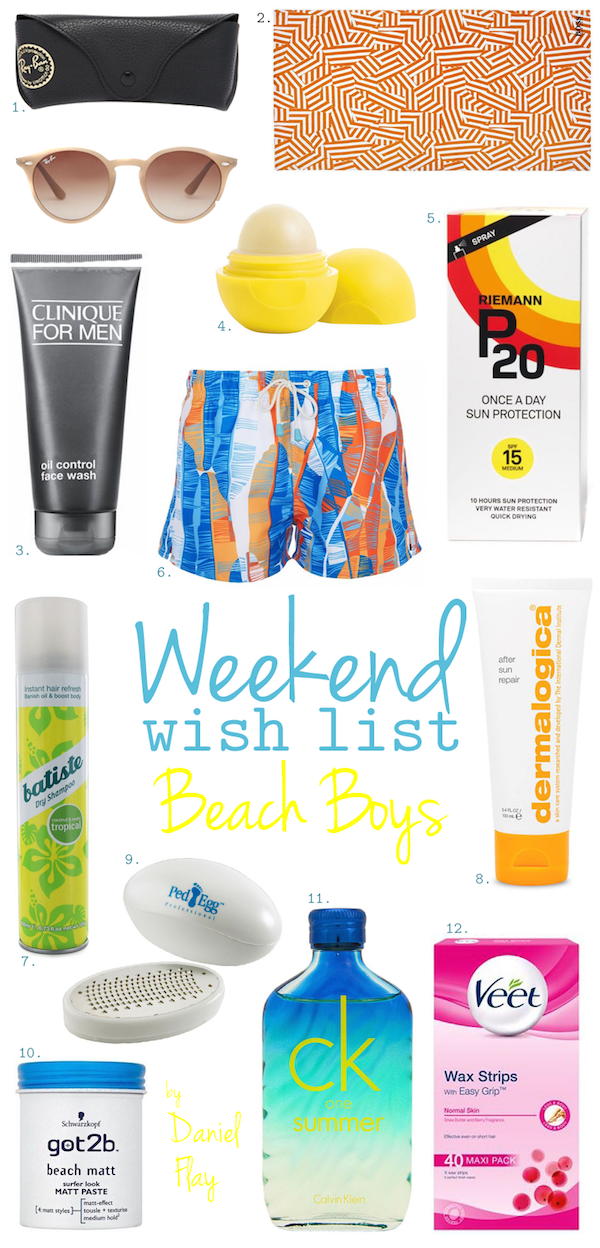 Weekend Wish List – Beach Boys