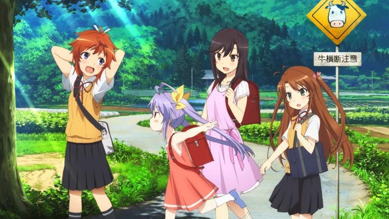 [ Info-Anime ] Non Non Biyori Repeat Perlihatan Key Visual Baru