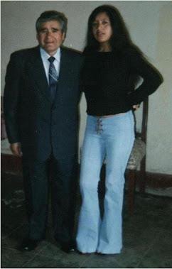 Mi Papito con su madre!!!!!!