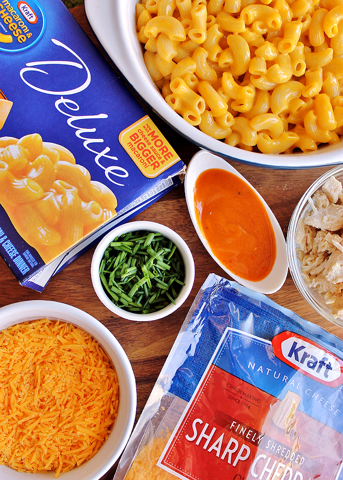 Buffalo Chicken Mac- #CookingUpHolidays with KRAFT at Walmart- Simple recipes with home-style flavor. AD