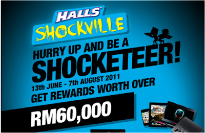 Halls 'Shockville' Contest