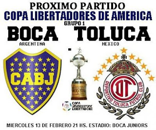 partido boca juniors vs toluca