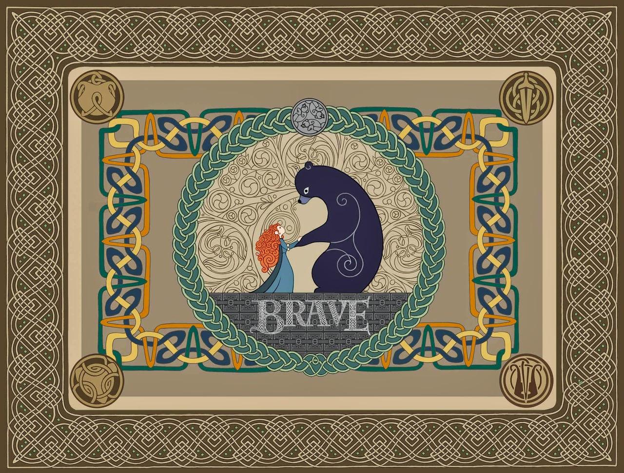 Tapestry Art Brave