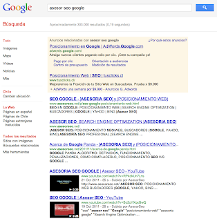 seo asesor google