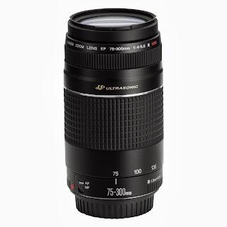 Lensa Canon EF 75-300mm f/4-5.6 III USM