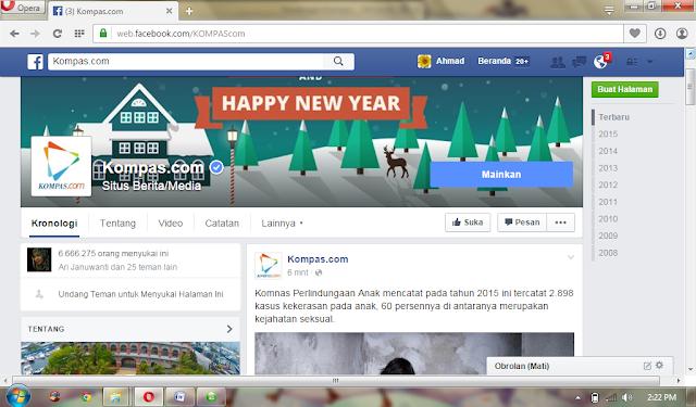 kompas fb page