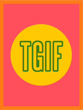TGIF Download for Project Life | iloveitallwithmonikawright.com