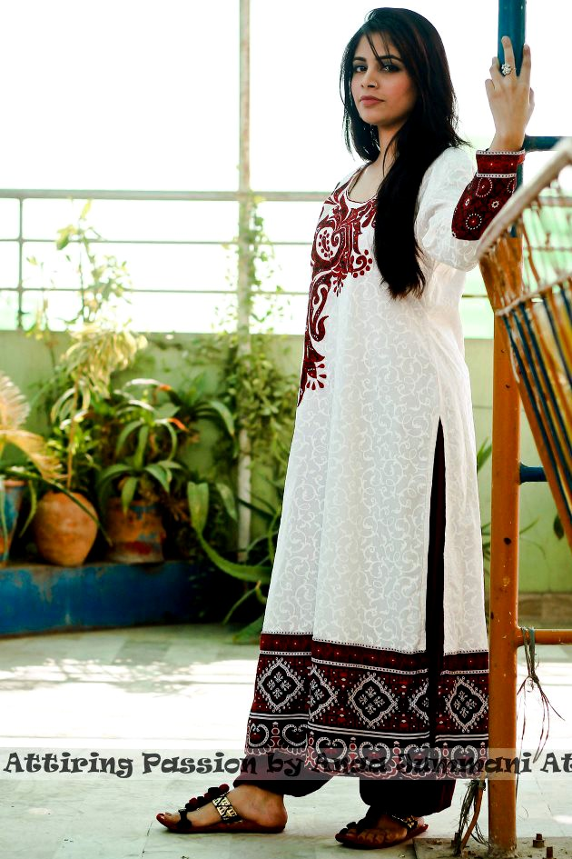 Simple Sindhi Dress