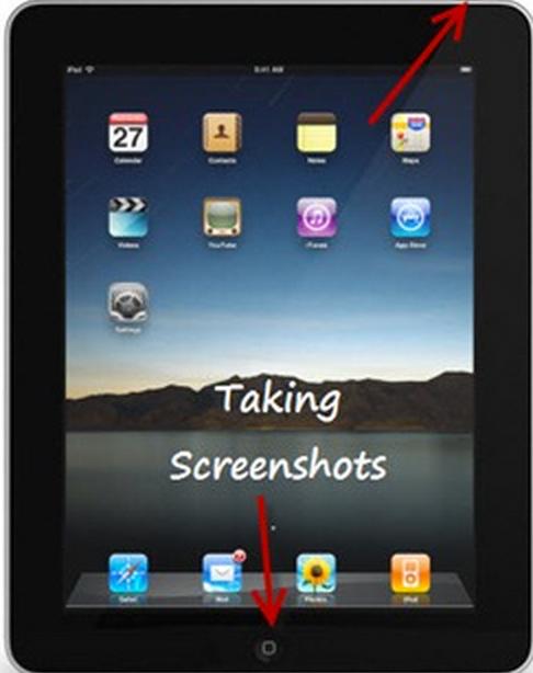 how to take ipad screenshot