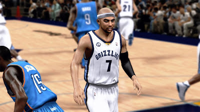 NBA 2K13 Jerryd Bayless Cyberface Patch