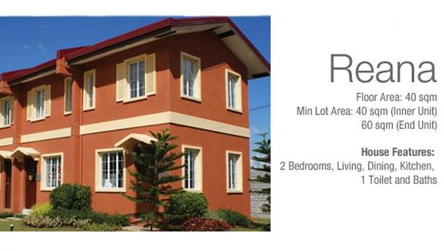 Reana, Two Storey Townhouses For Sale in Camella Lessandra Talamban
