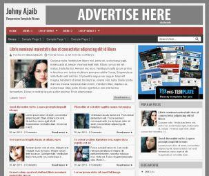 Johny Ajaib Blogger Template