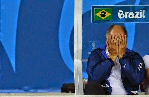 سكولاري متحسرا بعد فضيحة البرازيل امام المانيا