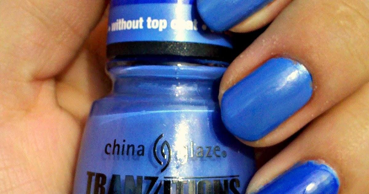 Pamela's Nails: China Glaze Tranzitions-Modify me