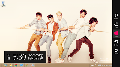 One Direction Windows 8 Theme