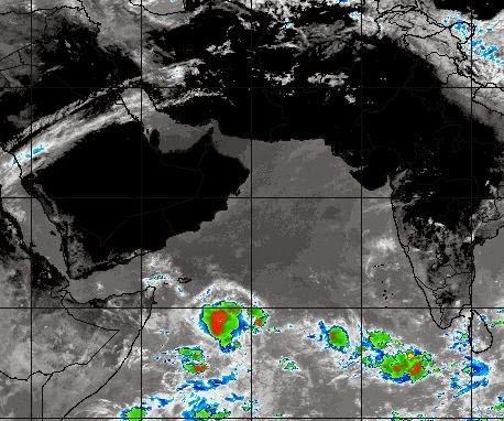 ANOTHER FORECAST MODEL PREDICTS A CYCLONE IN THE ARABIAN SEA JUNE, 2014