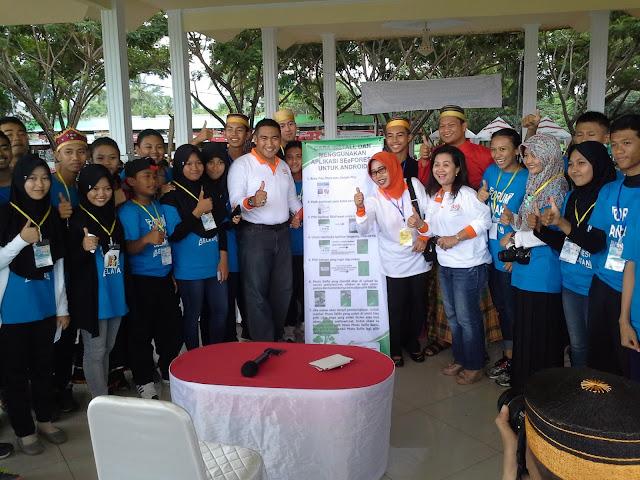 Bupati Bantaeng Lauching Aplikasi Sosial Media SEe Forest