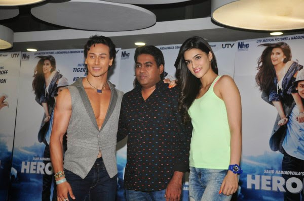 Heropanti Movie Promotion In Mumbai