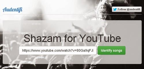 Descubre la musica que escuchas en Youtube con Audentifi