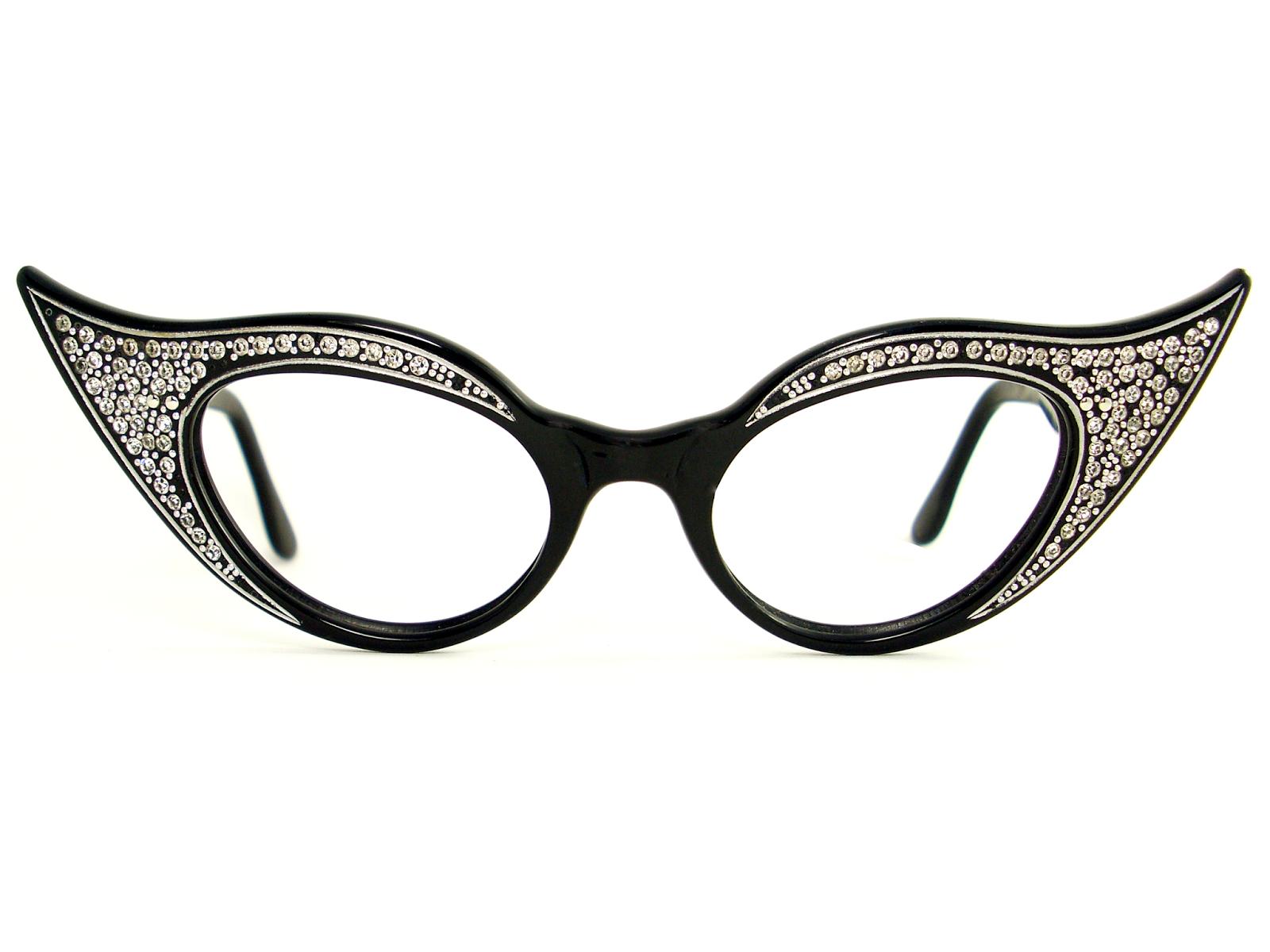 vintage eyeglasses frames eyewear sunglasses 50s july 2014