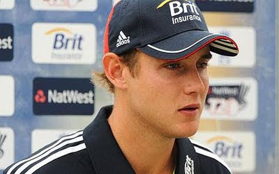 England Cricketer Stuart Broad Photo
