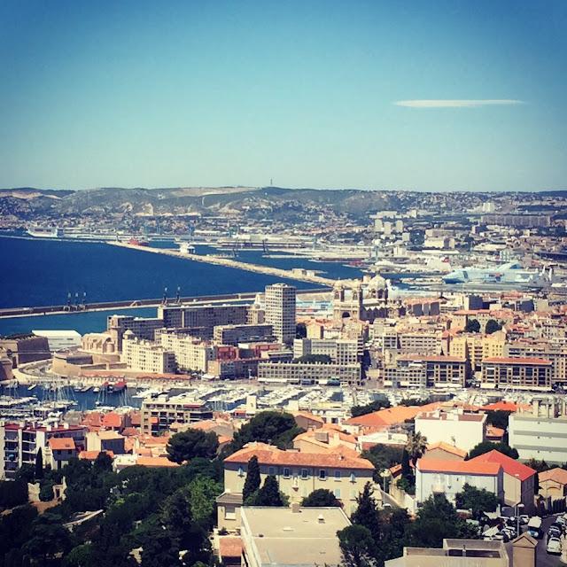 Marseille landscape