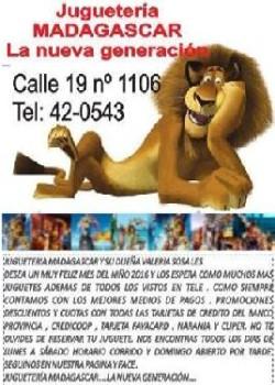 MADAGASKAR JUGUETERÍA