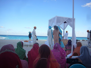 sikh wedding rituals mexico cancun  - sikhpriest @gmail.com