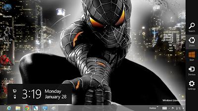 Black Spiderman 3 Wallpapers HD