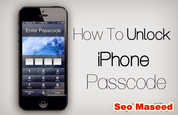 How To Unlock A Iphone 5c With A Password