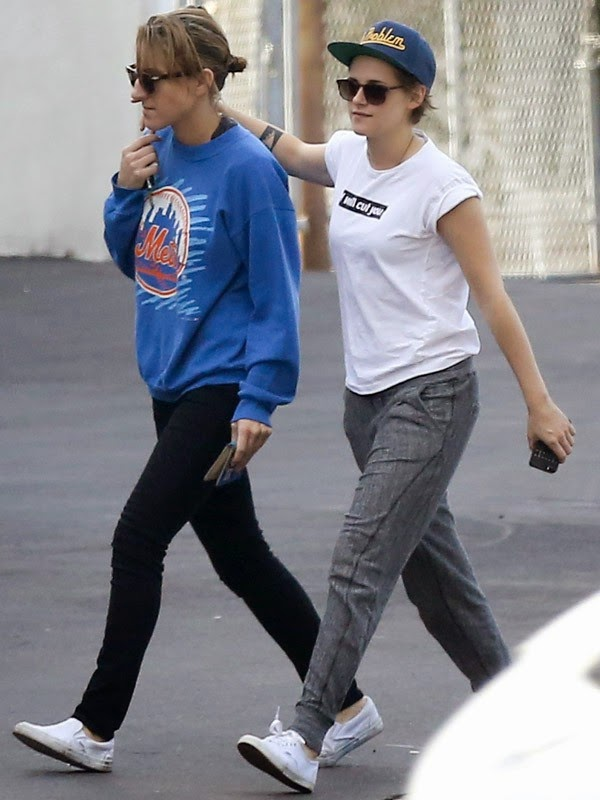 Kristen Stewart appears regularly in the company of Alicia Cargile