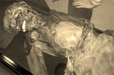 Scythian Pazyryk Ice Mummy Tattoo