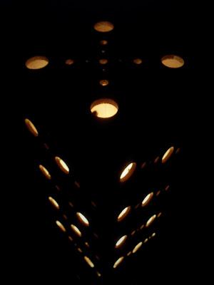Lampu Hias Dari Kayu Bekas 1